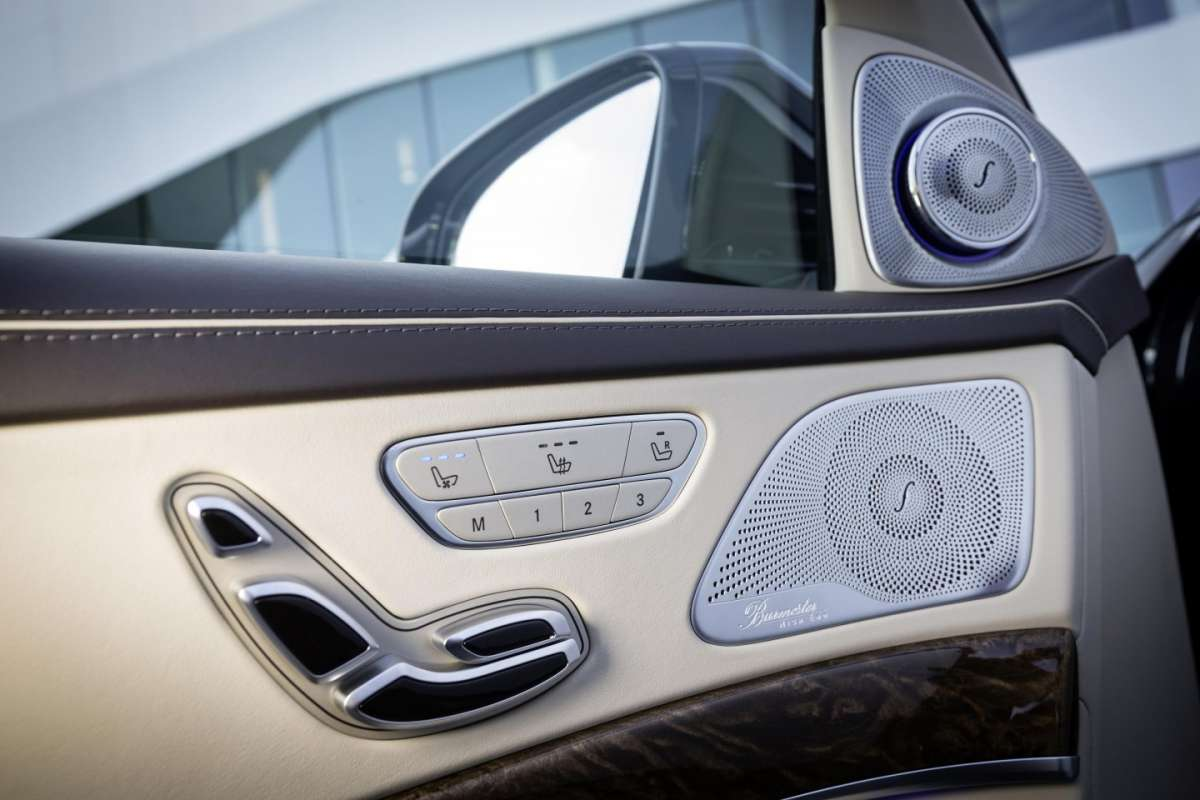 Mercedes S65 Amg, infotainment