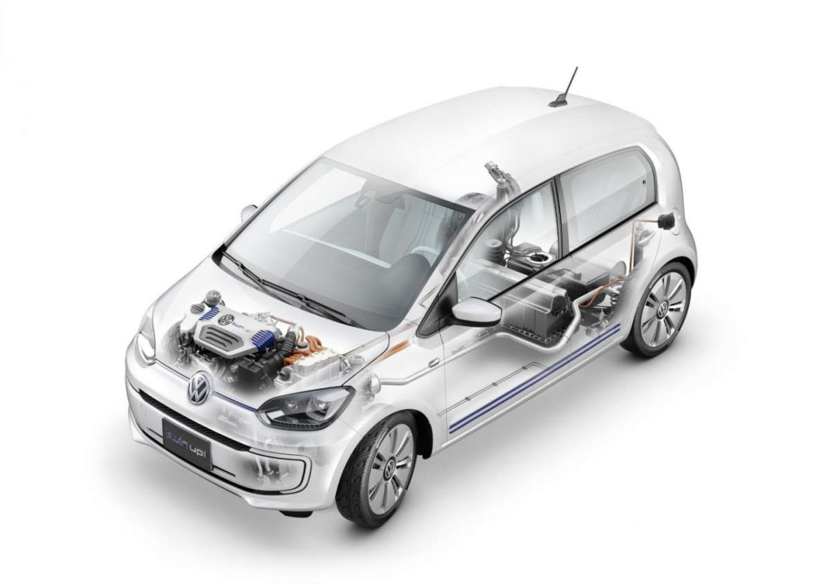 Volkswagen Twin-up!, consumi