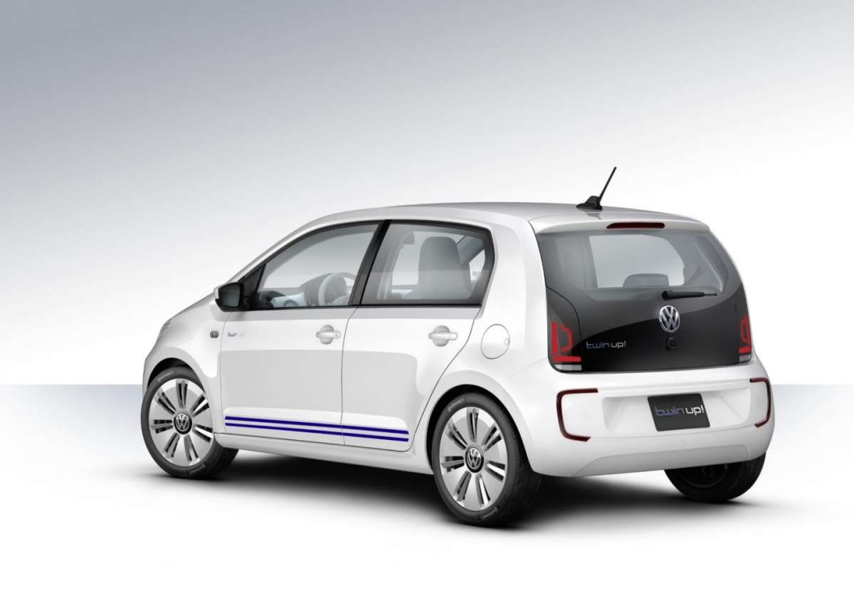 Volkswagen Twin-up!, dimensioni