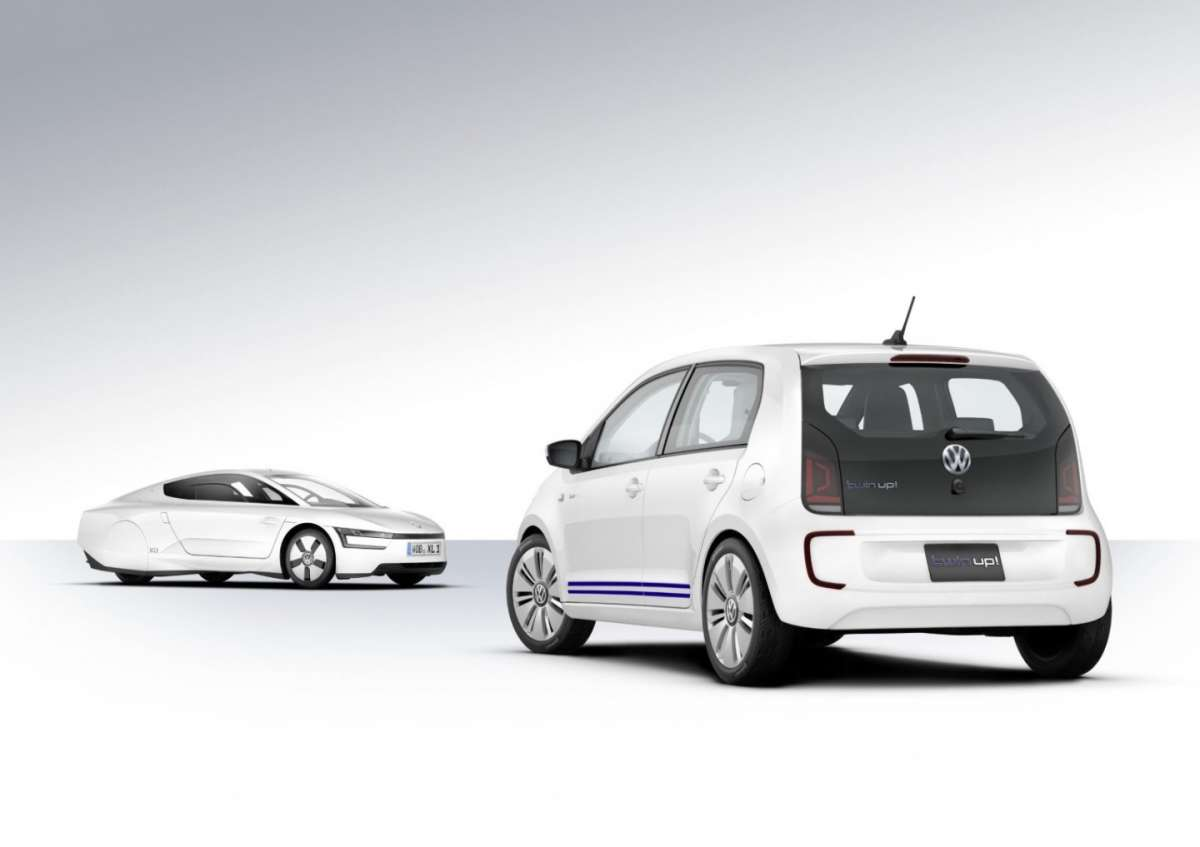 Volkswagen Twin-up!, posteriore