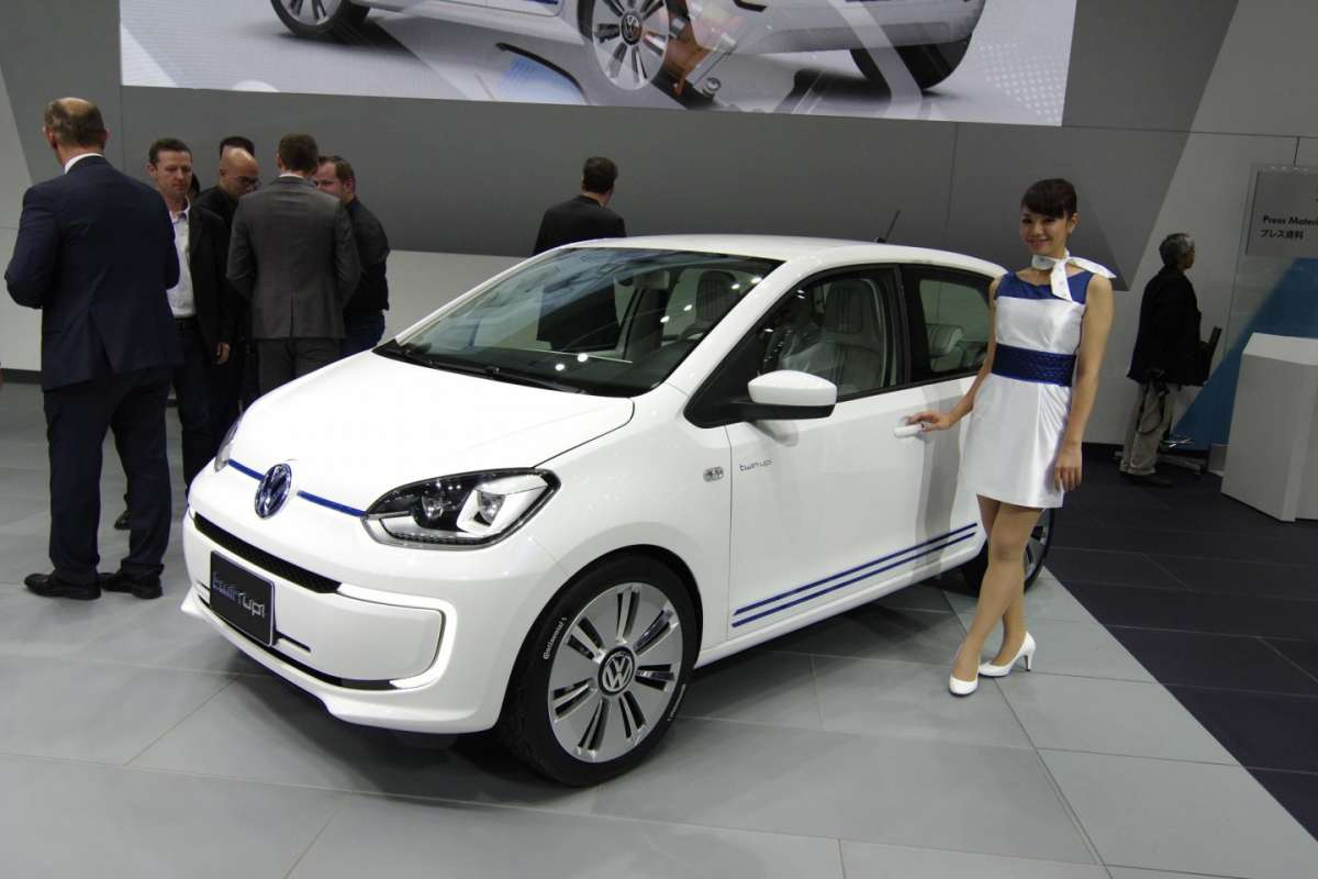 Volkswagen Twin-up! al Salone di Tokio 2013 - 02
