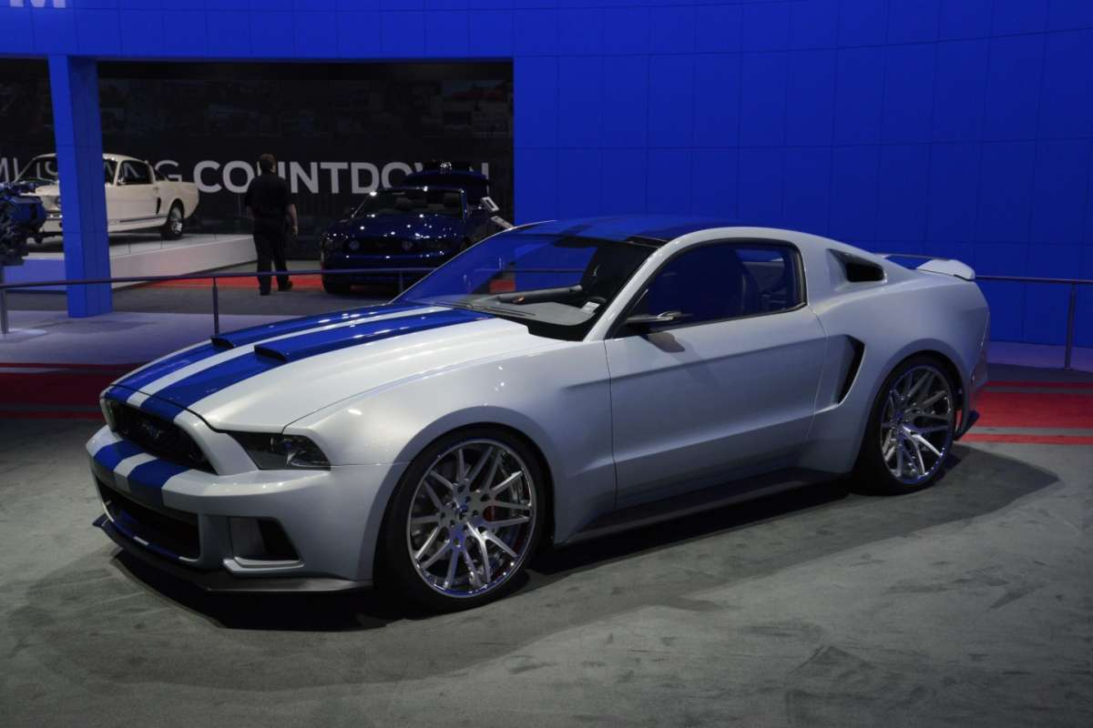 Ford Mustang GT al Salone di Los Angeles 2013 - 01