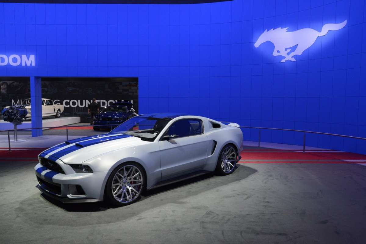 Ford Mustang GT al Salone di Los Angeles 2013 - 02