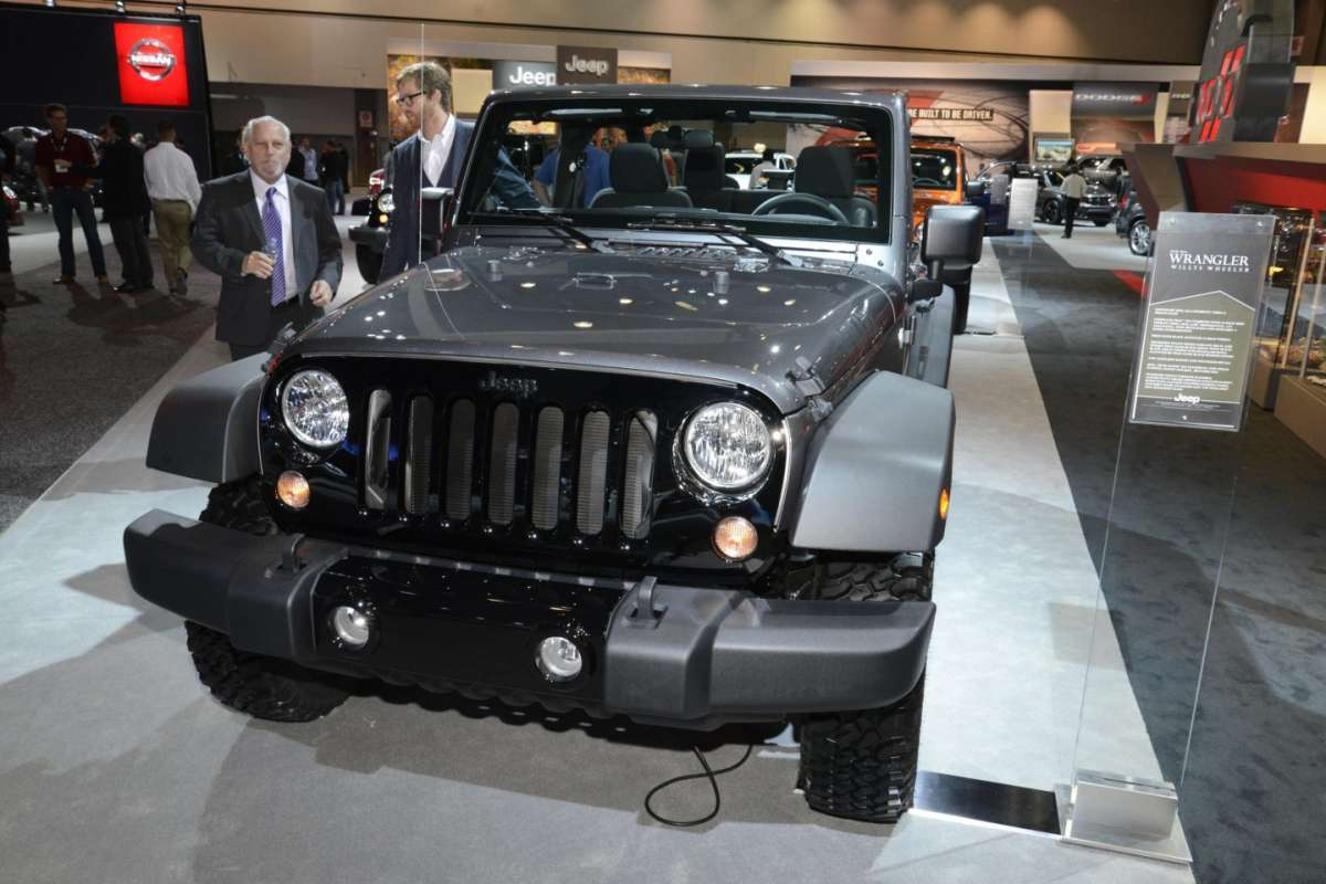 Jeep Wrangler Willys Wheeler al Salone di Los Angeles 2013