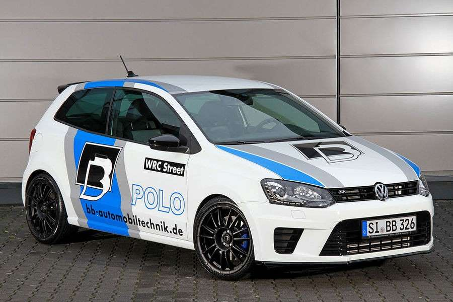 Volkswgen Polo R Wrc tuning B&B, assetto