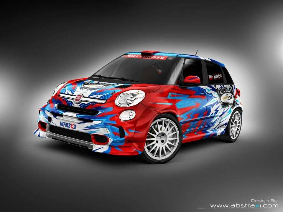 Fiat 500L for GRC & X Games