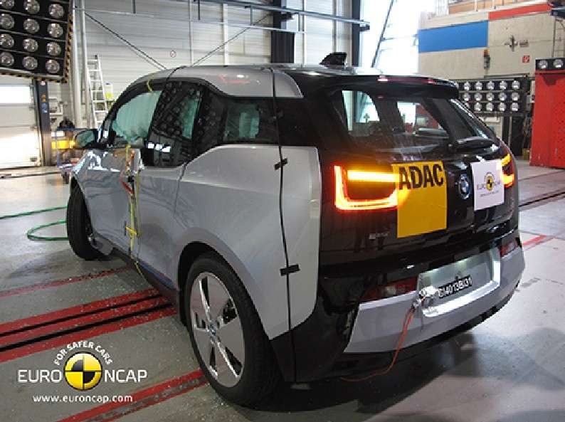 Bmw i3 Euroncap, crash test