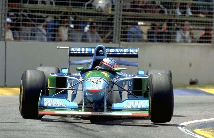 B194, la Benetton di Schumacher in vendita