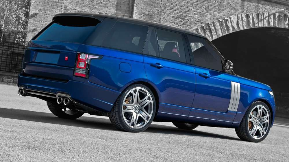 Range Rover Vogue 600RS, posteriore