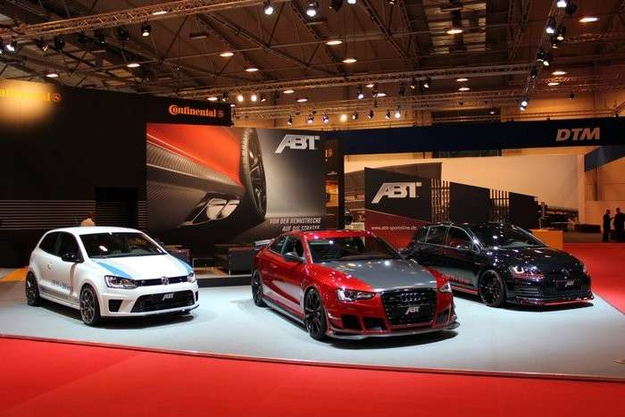 Abt all'Essen Motorshow 2013, tuning