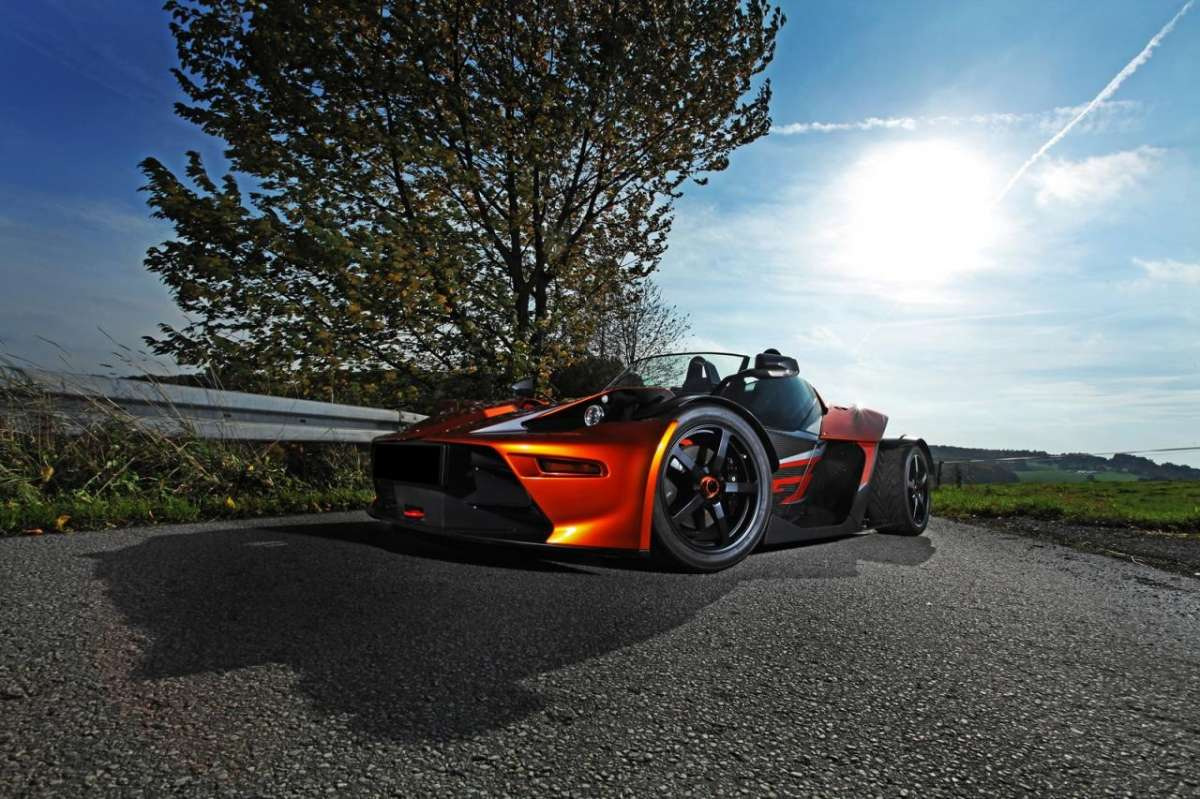 Ktm X-Bow Gt Wimmer RS, motore