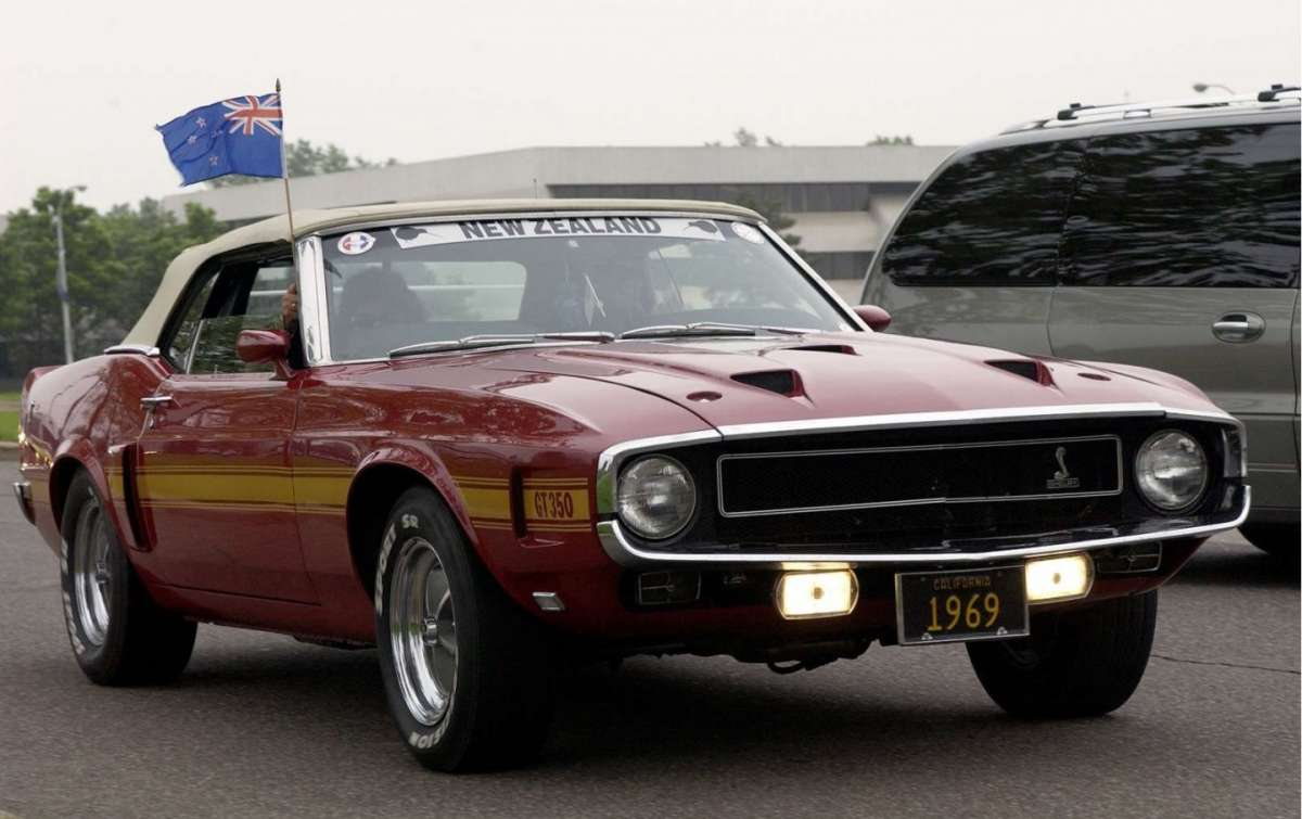 Ford Mustang Shelby GT350 1969
