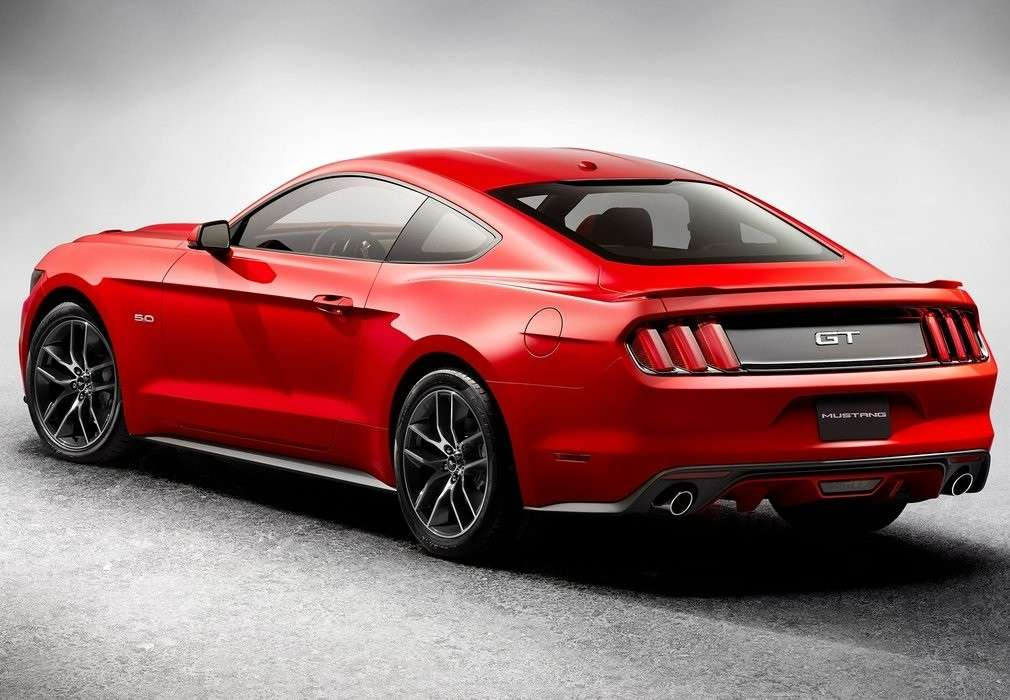 Ford Mustang GT V8, scarichi