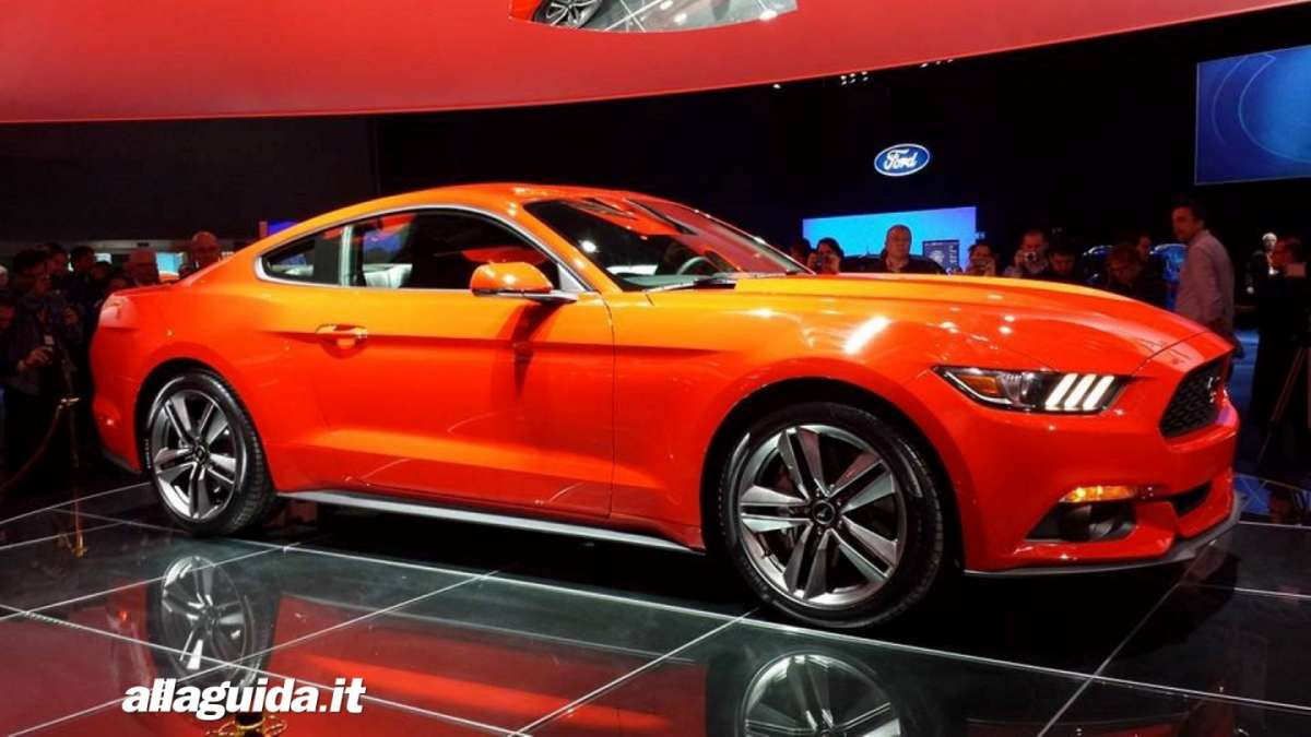 nuova Ford Mustang, consumi