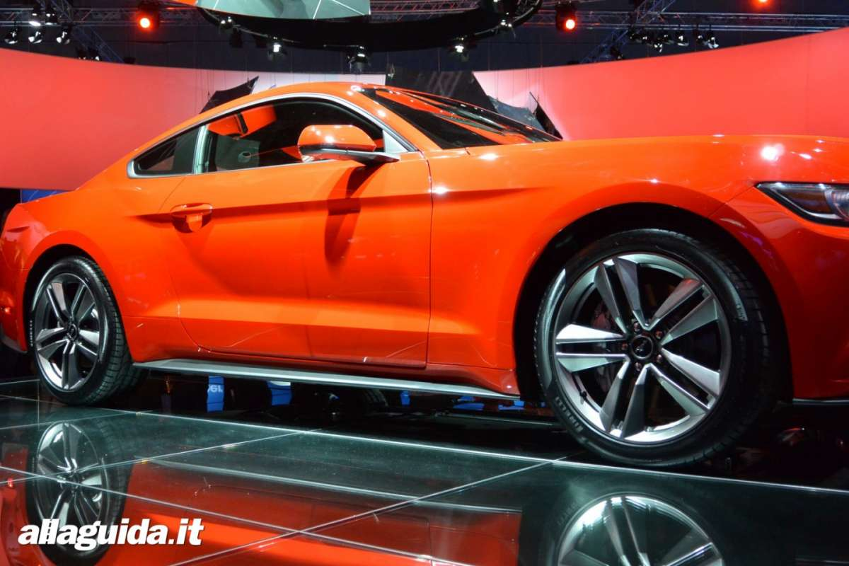 nuova Ford Mustang, passo