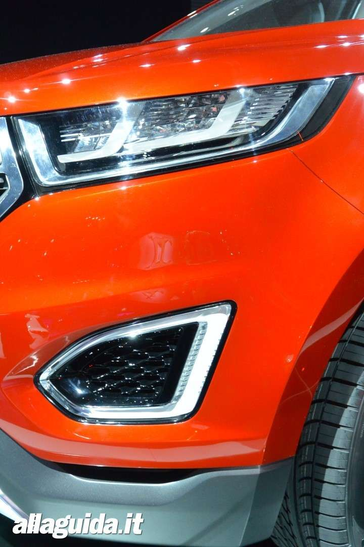 Ford Edge concept,  fari