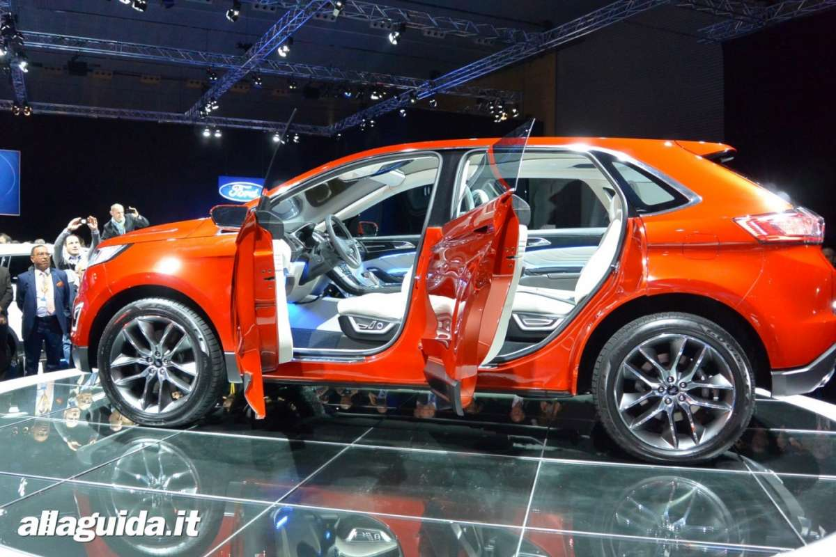 Ford Edge concept, suv