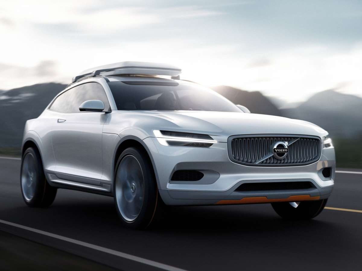 Volvo concept XC coupe, frontale