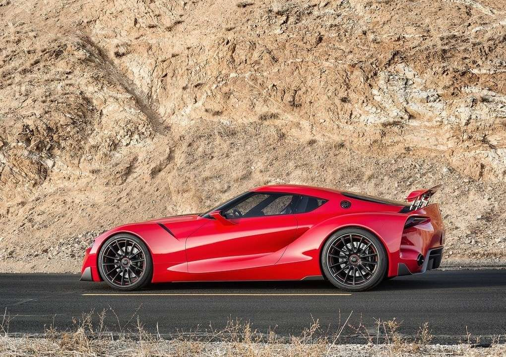 Toyota FT-1 concept, alettone