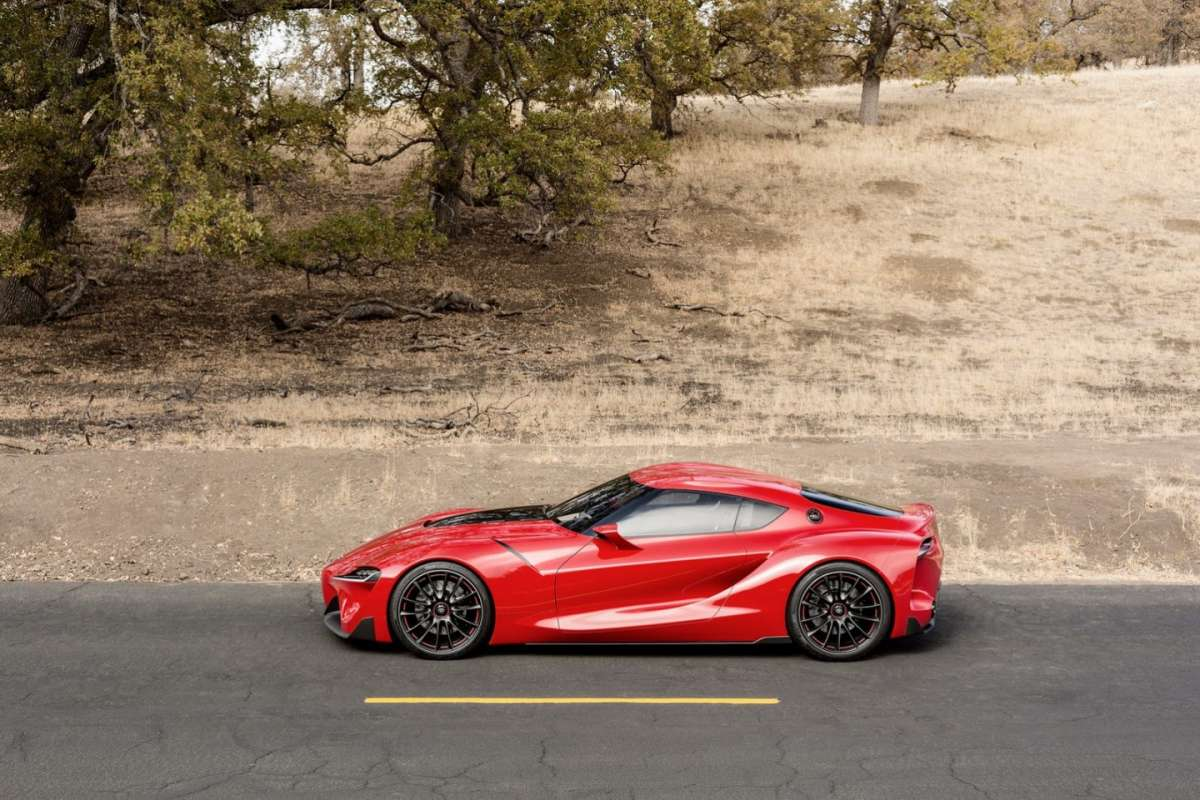 Toyota FT-1 concept, prese d'aria