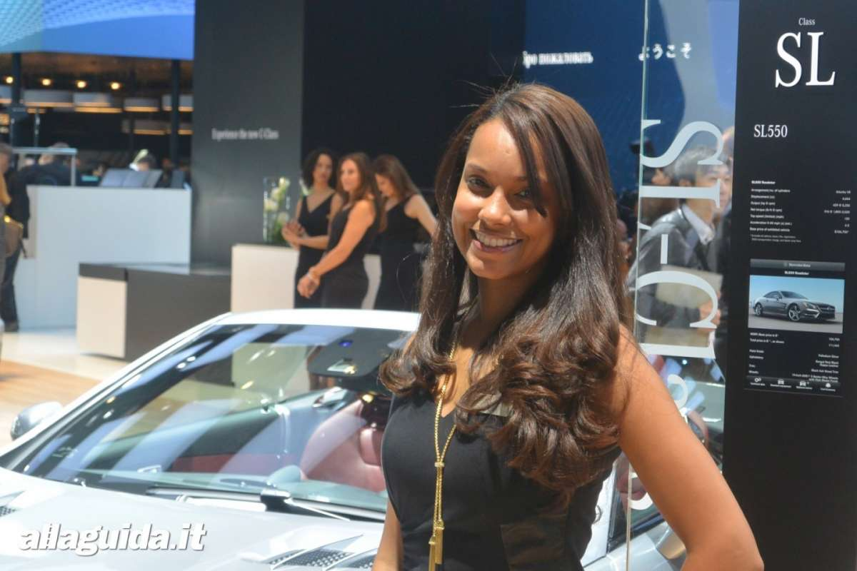 Le Hostess del NAIAS 2014 (9)