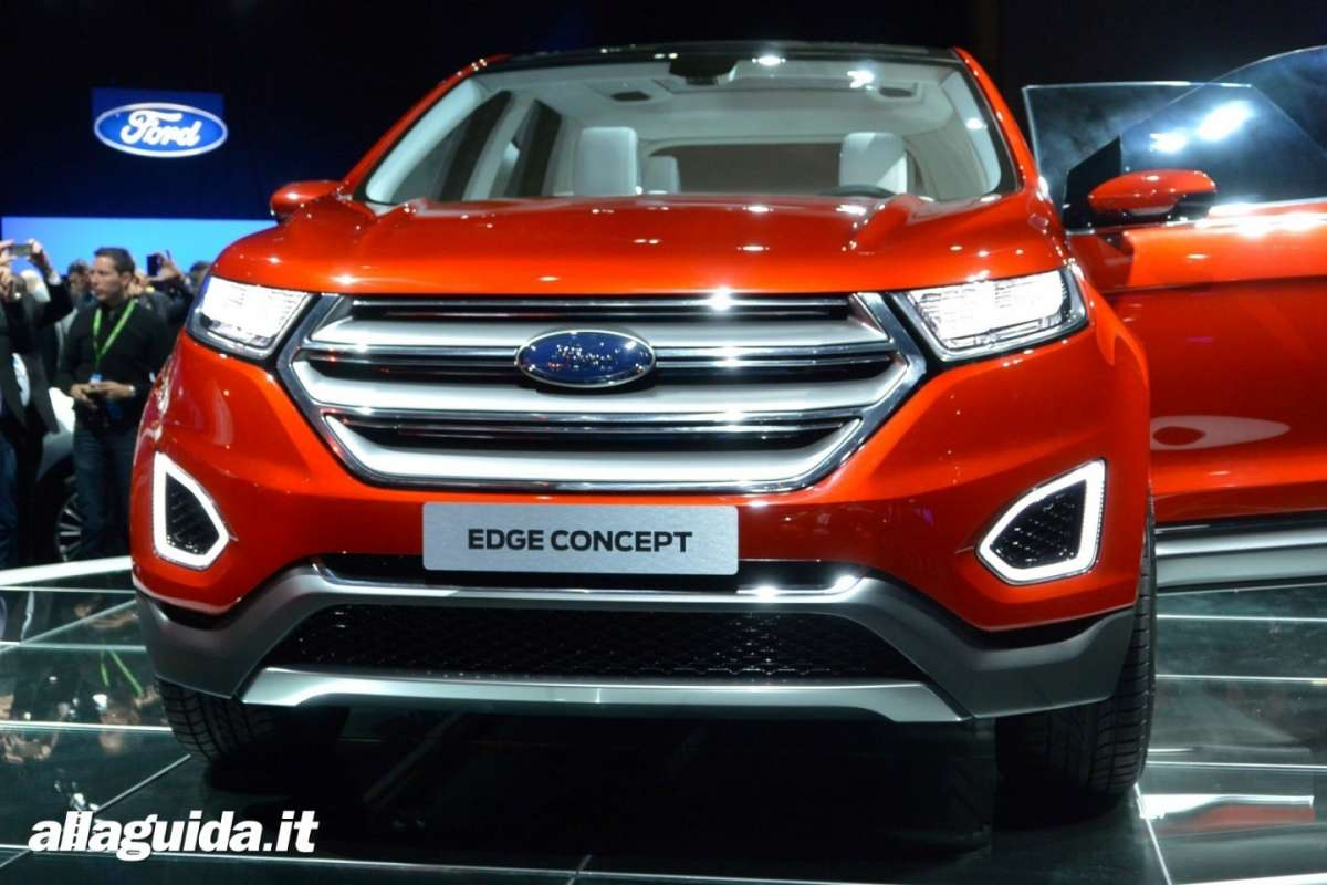 Ford Edge 2014 frontale