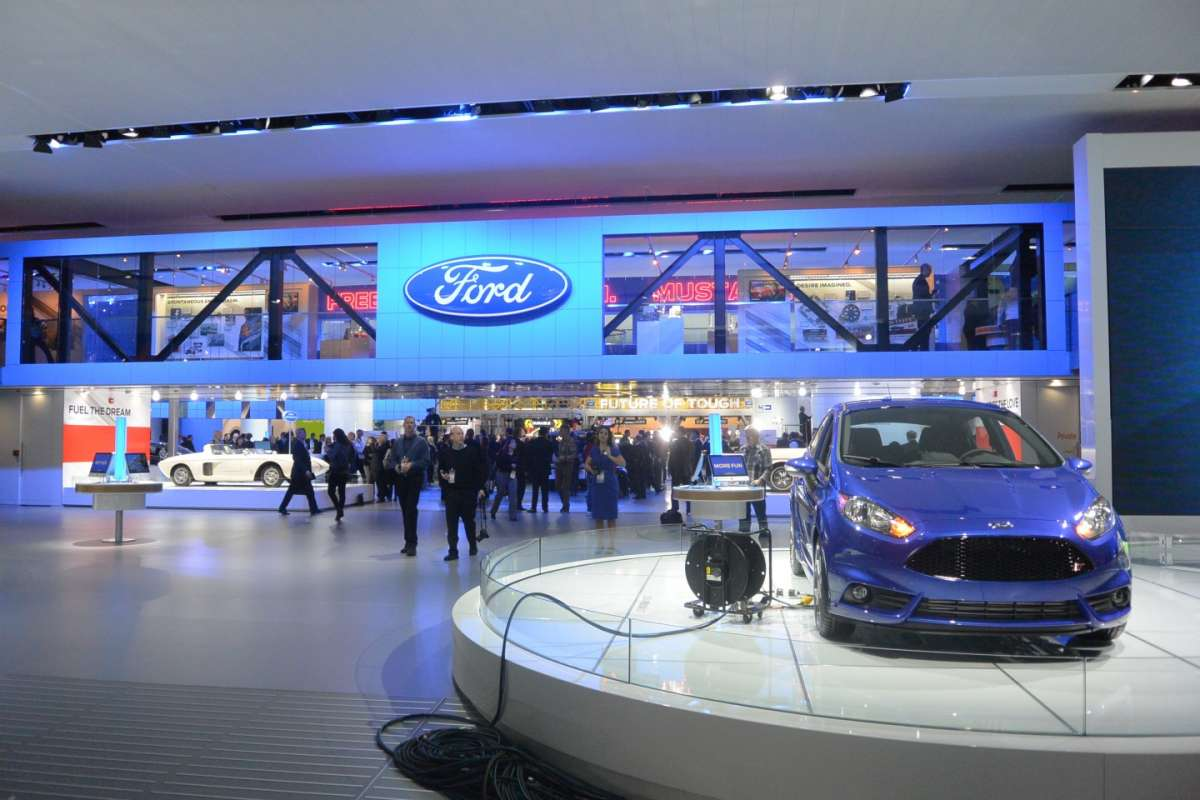 Stand Ford al NAIAS