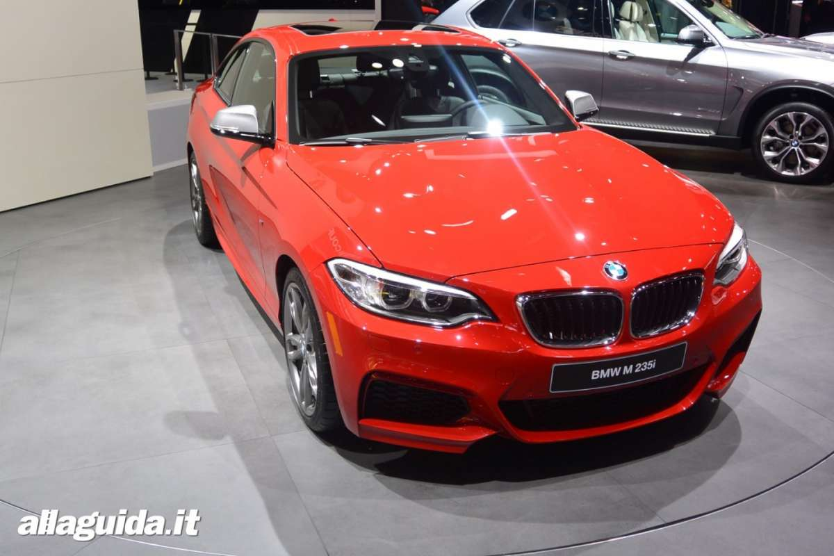 Bmw M235i, Salone di Detroit 2014 - 01