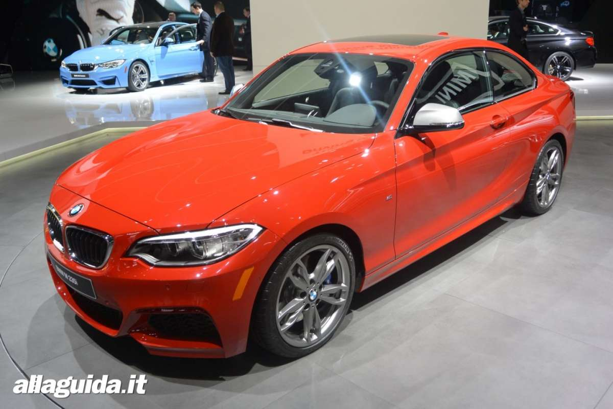 Bmw M235i, Salone di Detroit 2014 - 04