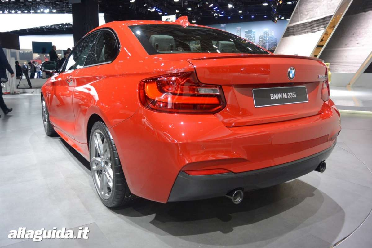 Bmw M235i, Salone di Detroit 2014 - 06