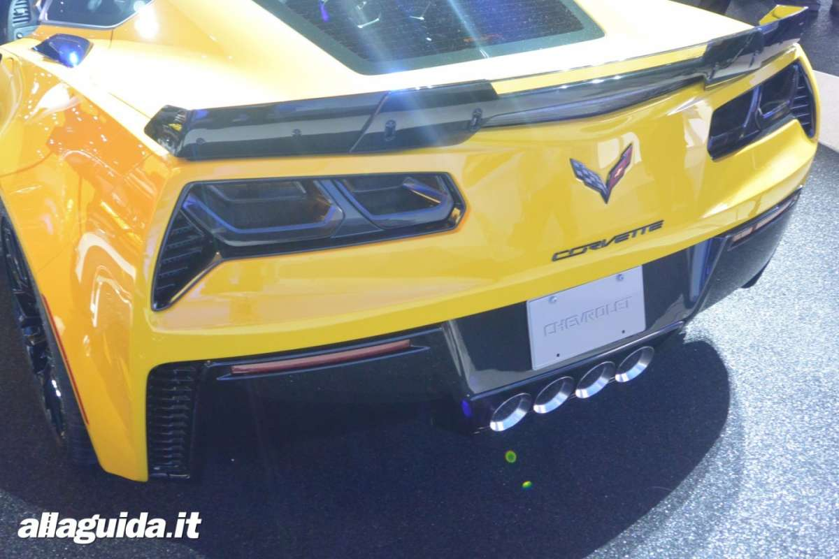 Chevrolet Corvette Z06, Salone di Detroit 2014 - 07