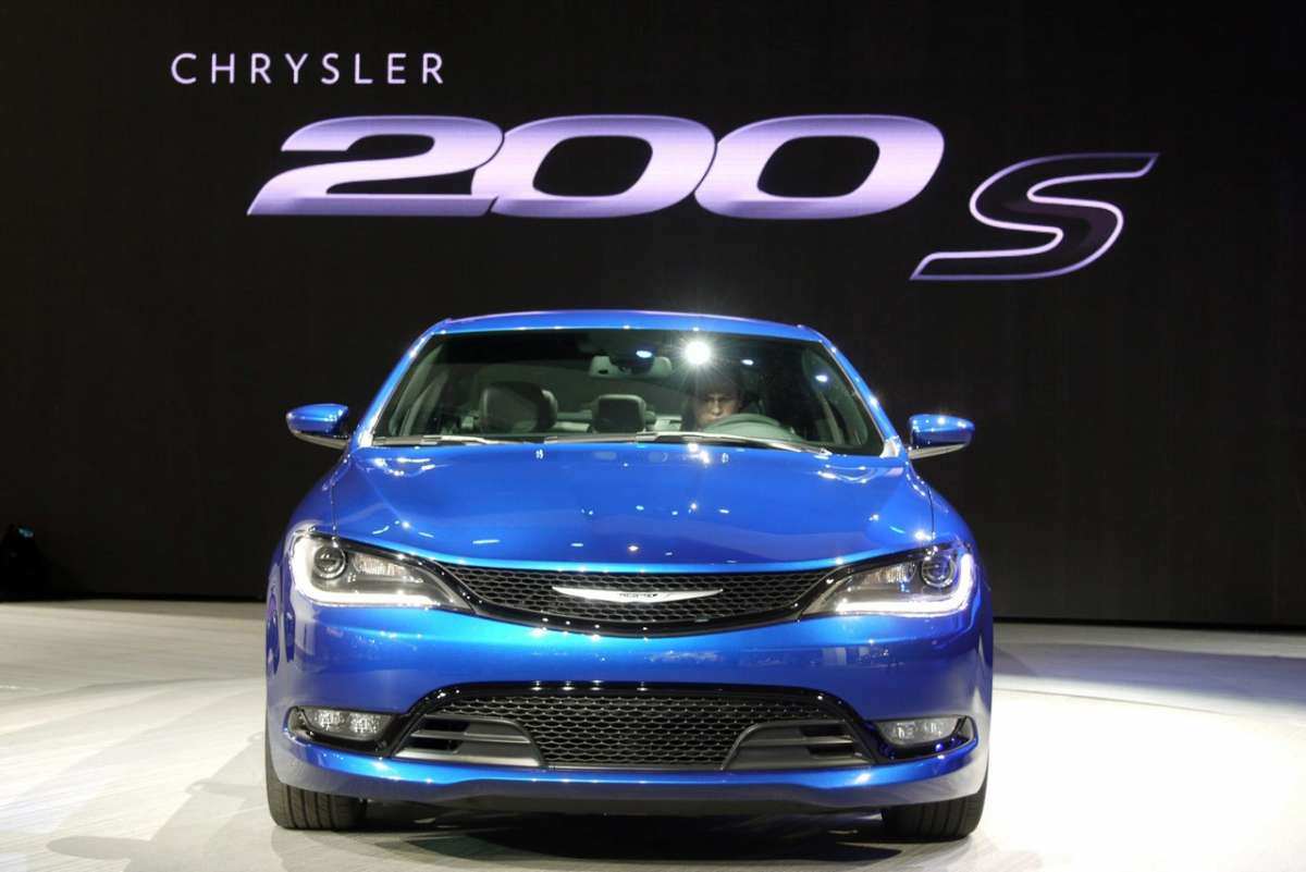 Chrysler 200 al Salone di Detroit 2014