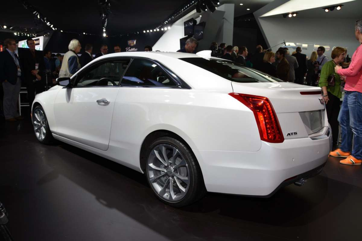 Cadillac ATS coupe, posteriore
