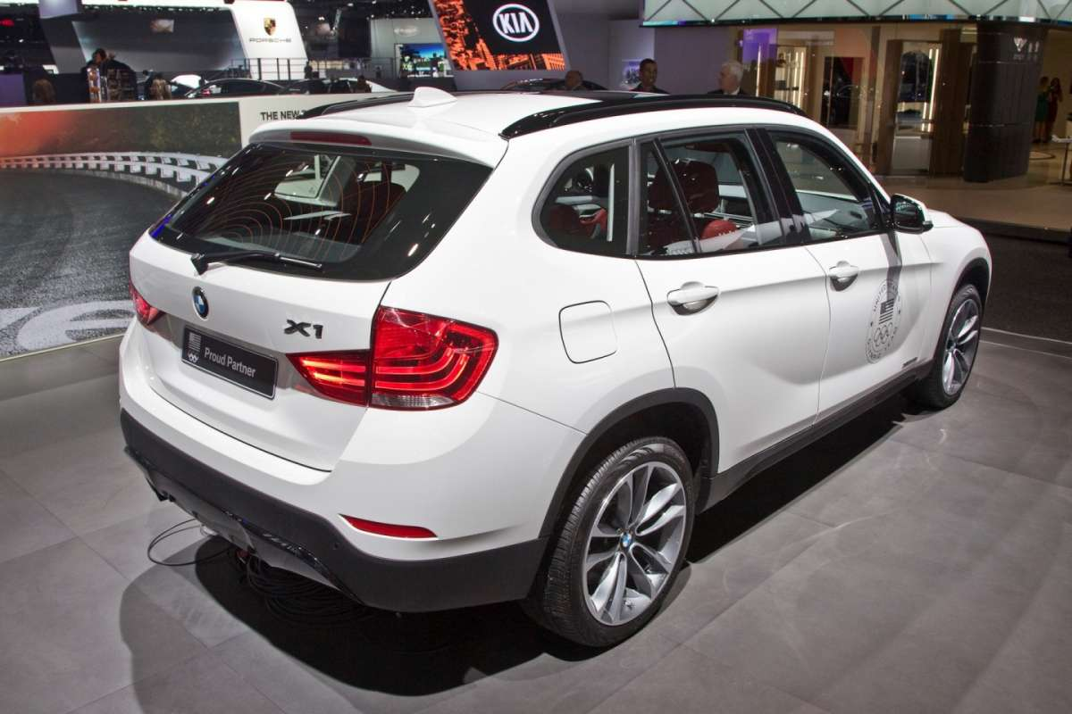 Bmw X1 MY 2014 posteriore
