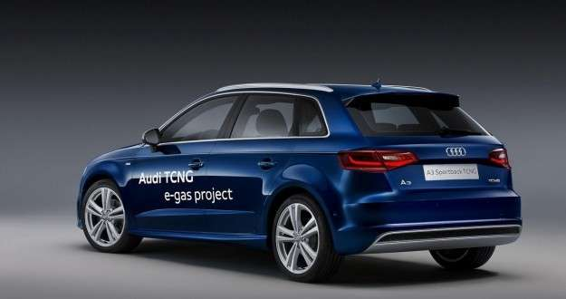 Audi A3 Sportback TCNG posteriore
