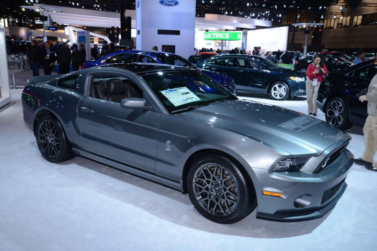 Shelby GT500, Salone di Chicago 2014 - 01