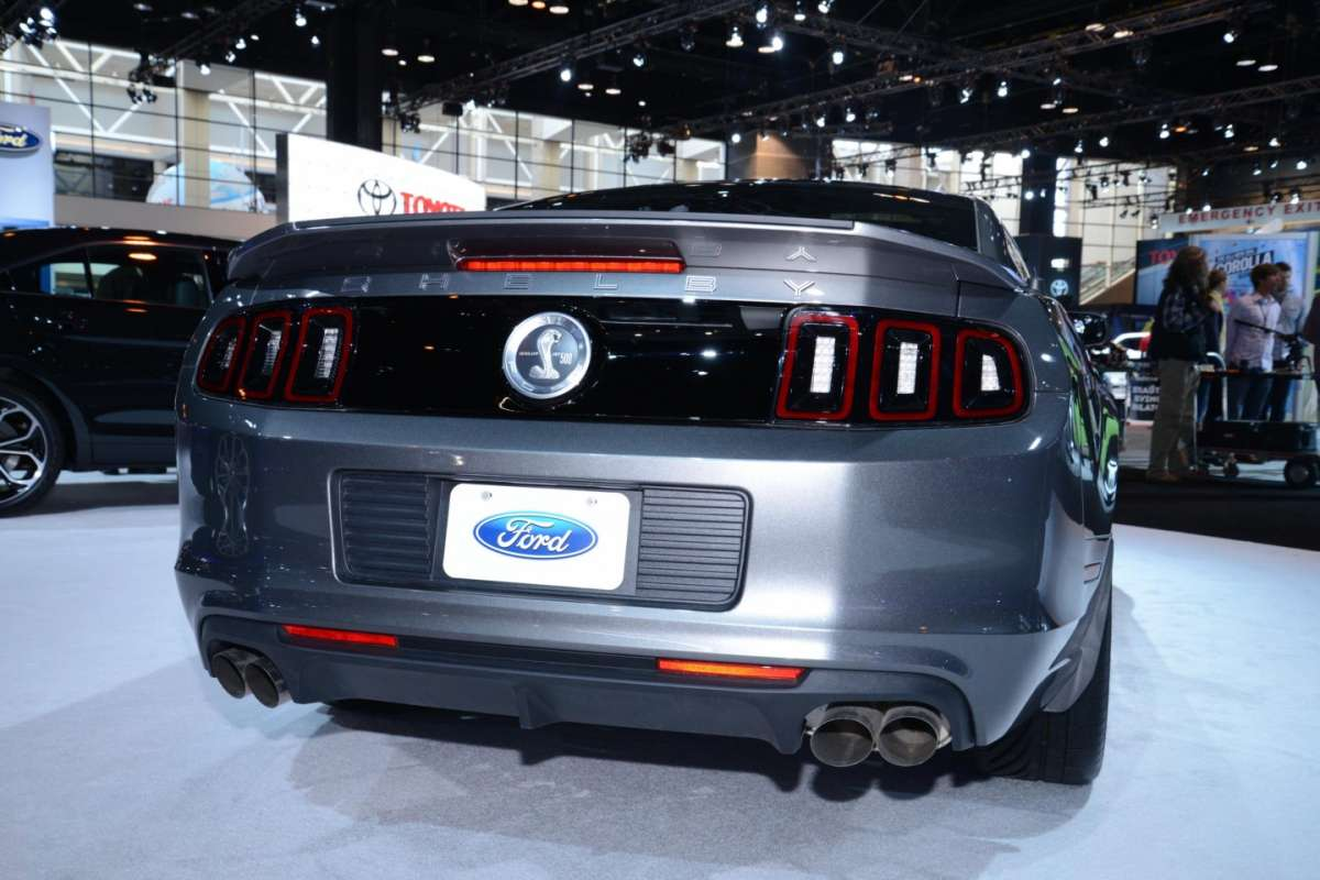 Shelby GT500, Salone di Chicago 2014 - 03