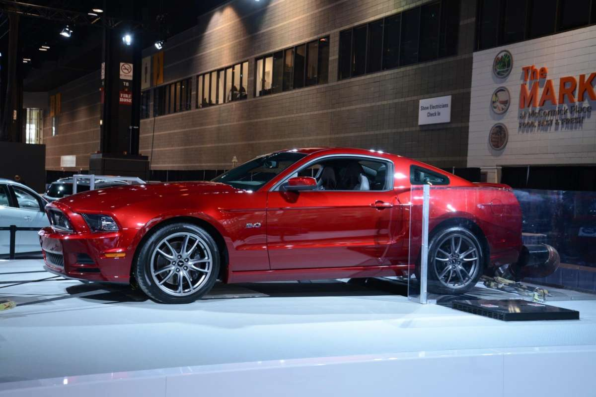Salone di Chicago 2014, Ford Mustang