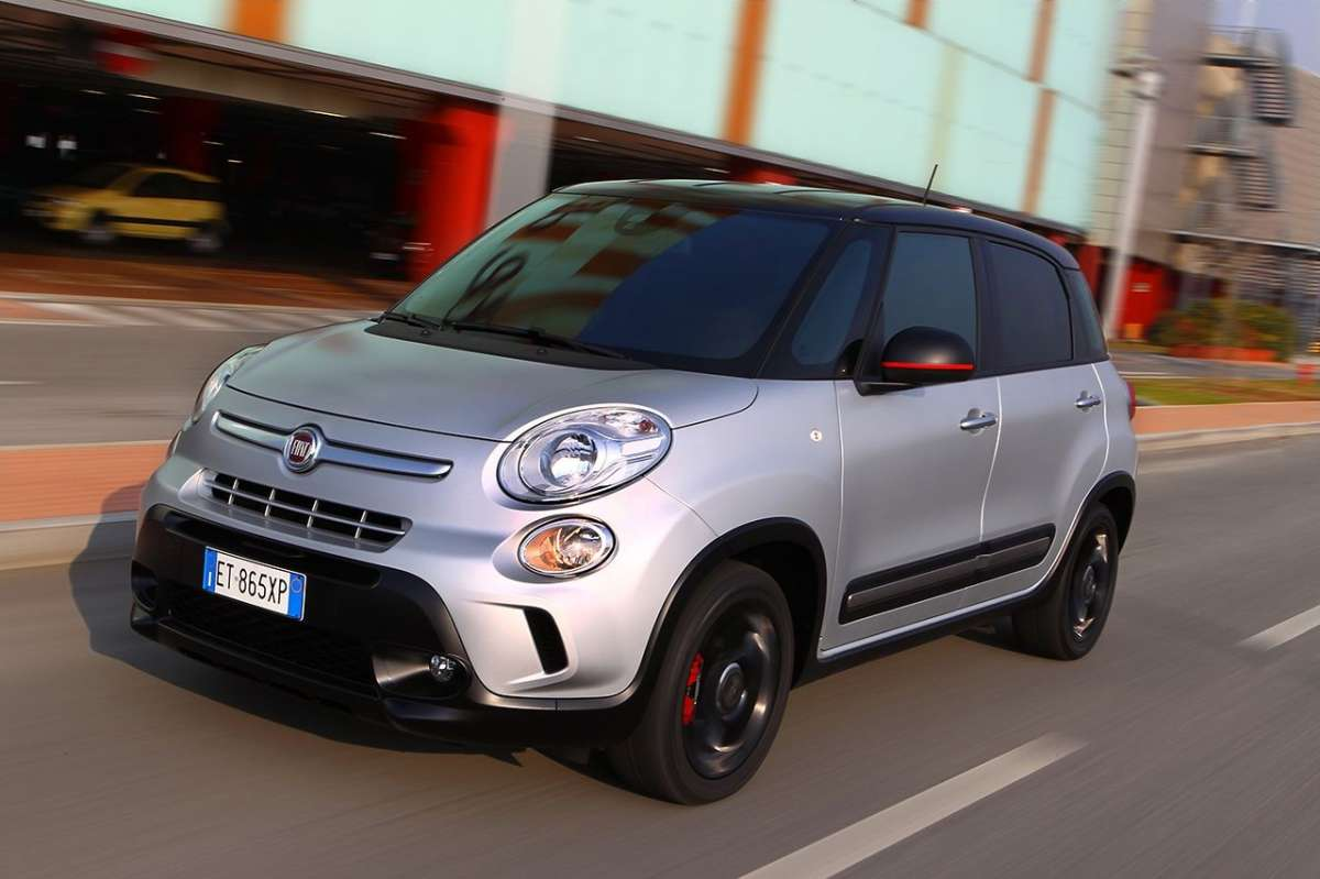 Fiat 500L Beat Edition, frontale
