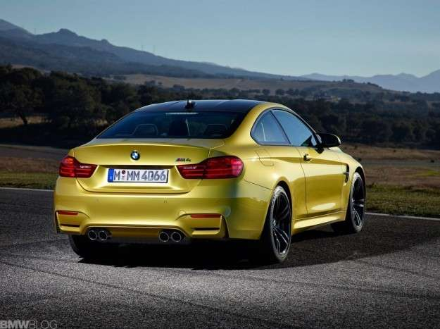 Bmw M4 posteriore