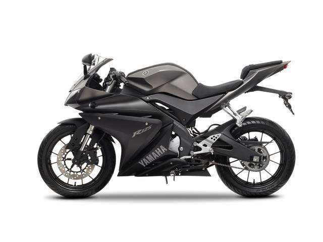 Yamaha YZF-R125 Matt Grey