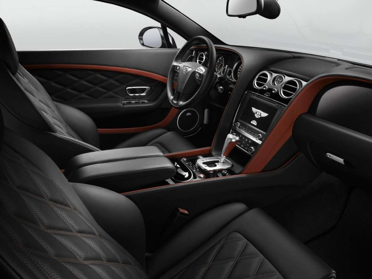 Abitacolo Bentley Continental GT Speed