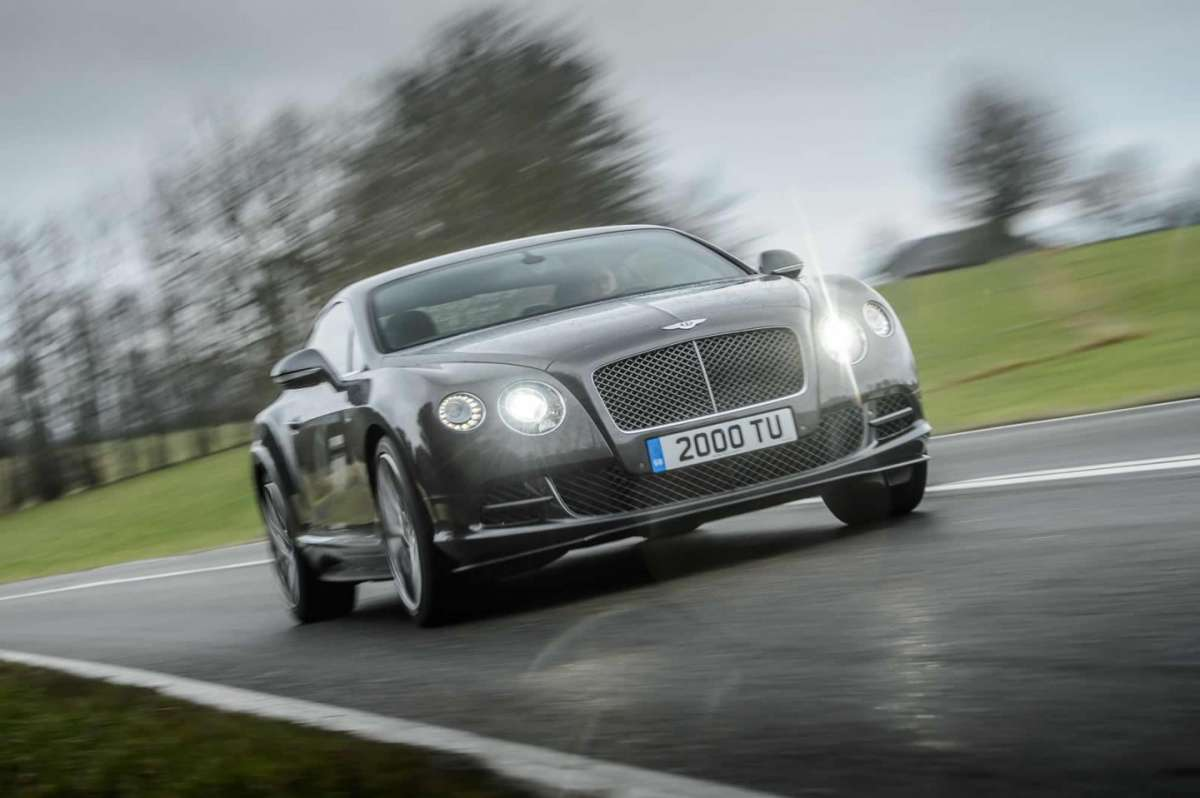 Bentley Continental GT Speed muso