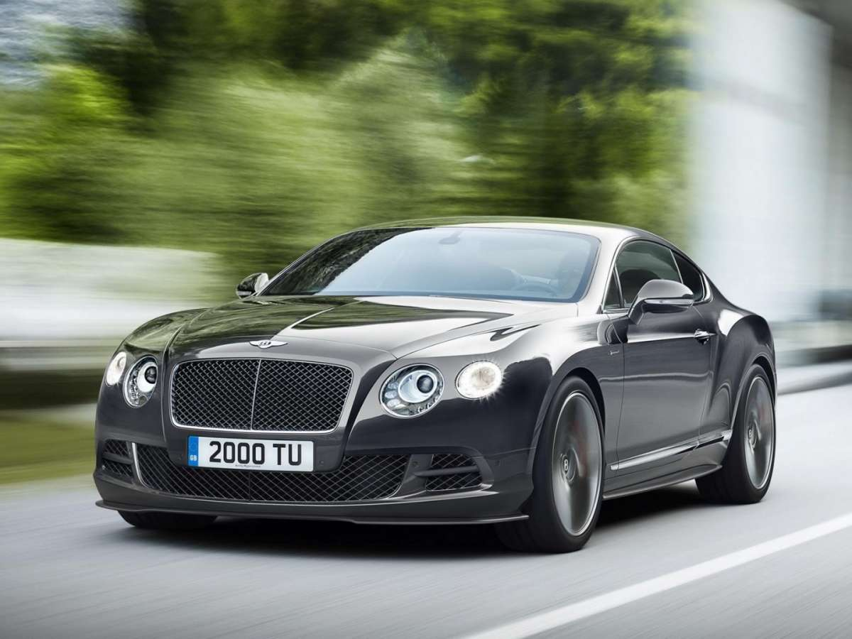 Foto ufficiali Bentley Continental GT Speed