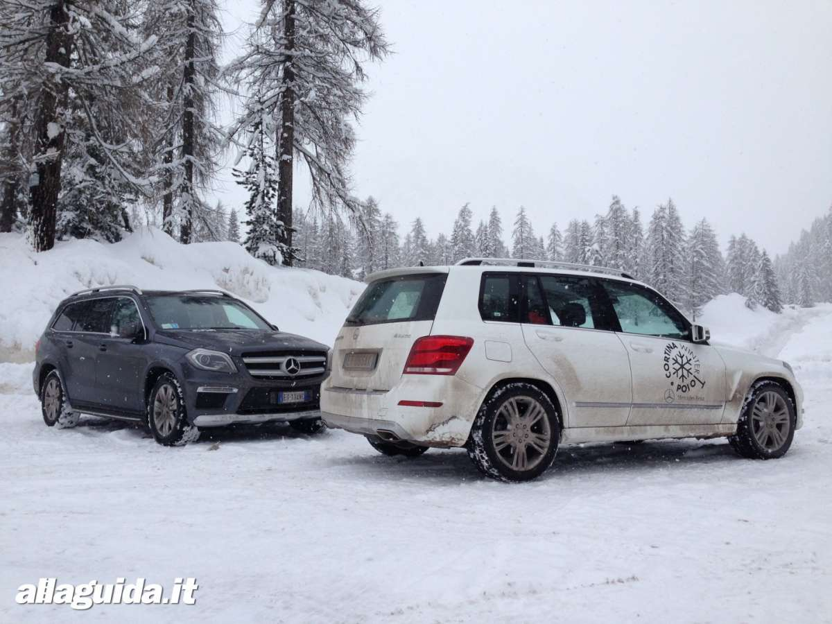 Mercedes Benz Winter Driving Academy a Cortina d'Ampezzo