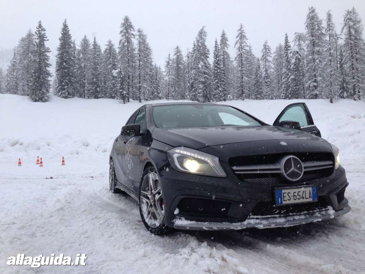 Frontale A45 AMG