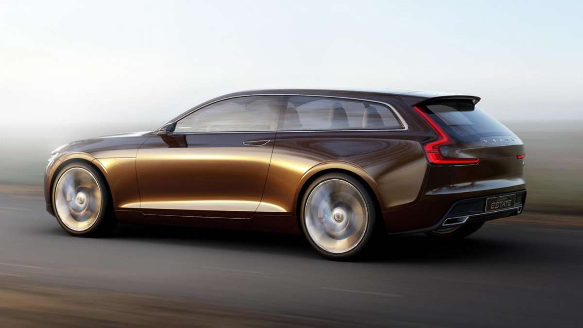 Volvo Concept Estate laterale