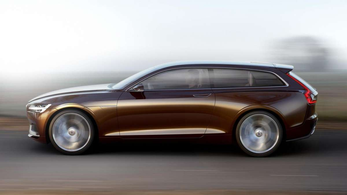 Volvo Concept Estate lato