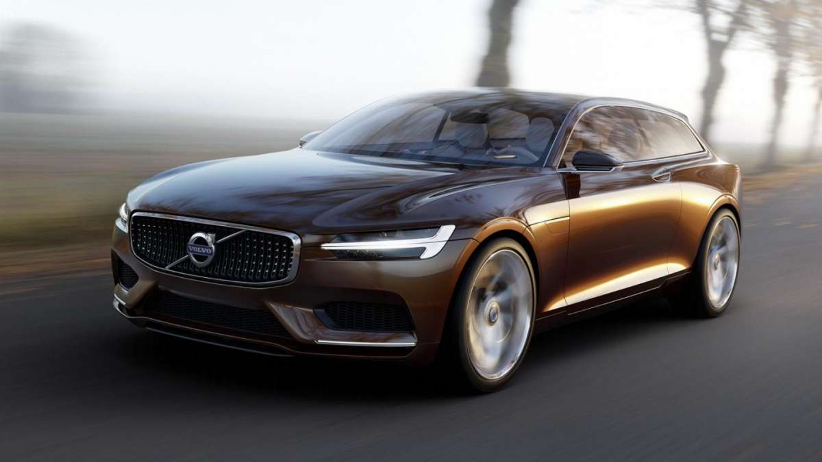 Volvo Concept Estate vista da davanti