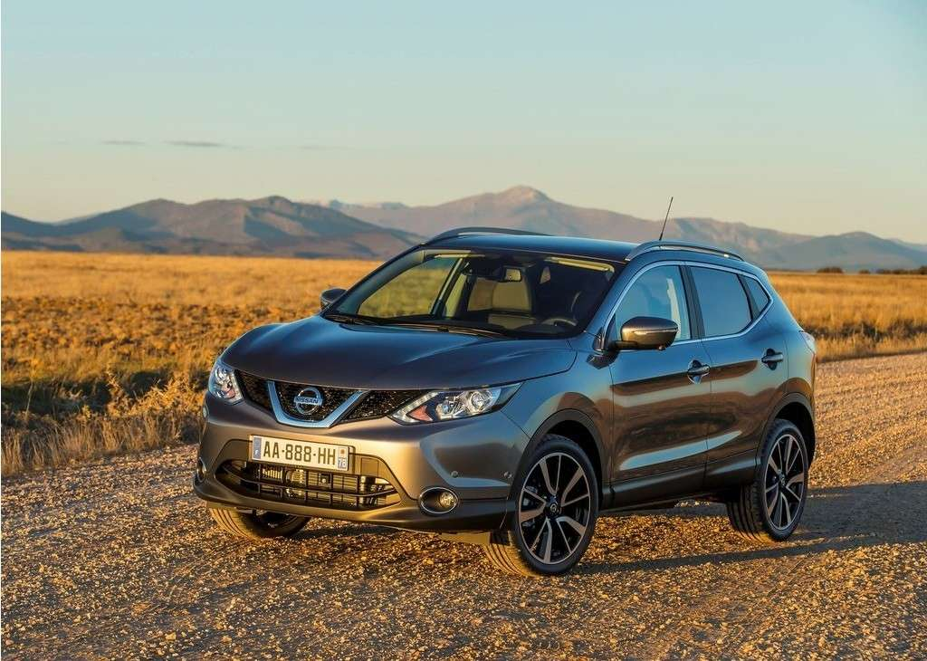 Nissan Qashqai 2014 nuovo frontale